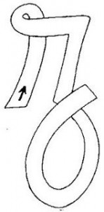 mayúscula