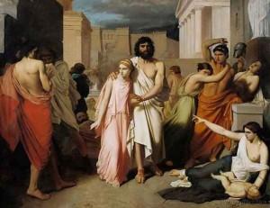 Edipo y Antigona
