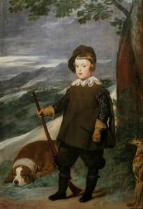 Príncipe_BaltasarCarlos_cazador_Velázquez_lou