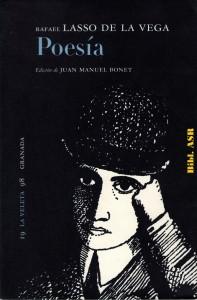 99. Rafael Lasso de la vega, Poesía (1999). Bibl. ASR