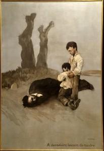 A derradeira leición do mestre (1945)