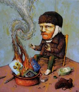 van-gogh-quemando-sus-cuadros-para-calentarse