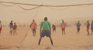 Fútbol imaginário em Timbuktu.