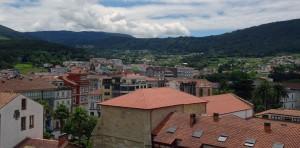 Vistas da vila de Noia