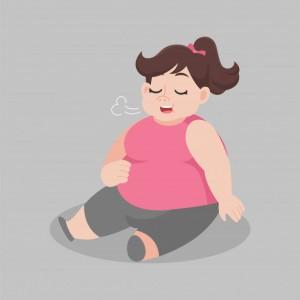 gran-mujer-gorda-comer-sentado-completo-suelo-perdida-peso-concepto-salud-dibujos-animados_134553-181