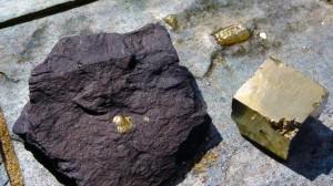 O parecido da pirita co nobre metal deu pé a moitos enganos